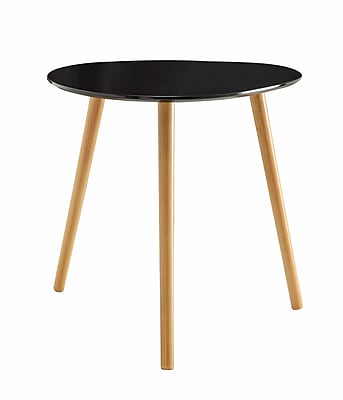Convenience Concepts Inc. Oslo Bamboo End Table, Black, Each (203585BL)
