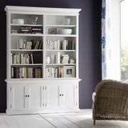 Infinita Corporation Halifax 87'' Oversized Set Bookcase