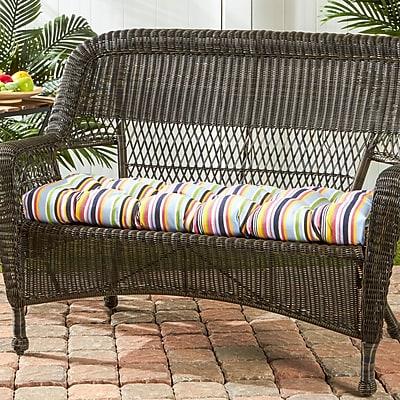 Greendale Home Fashions Outdoor Sunbrella Bench Cushion