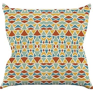 KESS InHouse Tribal Imagination Throw Pillow; 26'' H x 26'' W