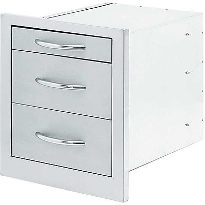 Cal Flame BBQ Built-In Storage Bin