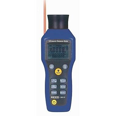 REED DM-01 Ultrasonic Distance Meter, 52' (16m)
