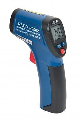 REED R2002 Compact Infrared Thermometer, 8:1, -58/932degF, -50/500degC