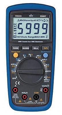 REED R5007 TRMS Digital Multimeter with Non-Contact Voltage Detector