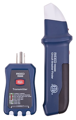 REED R5500 Circuit Breaker Finder/Receptacle Tester/ Gfci Tester