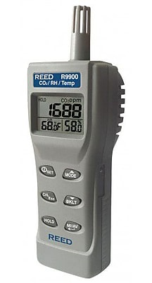REED R9900 Indoor Air Quality CO2 Meter