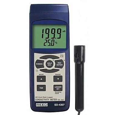REED SD-4307 SD Series Conductivity/TDS/Salinity Datalogger
