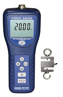 REED SD-6100 Force Gauge Datalogger, 100kg