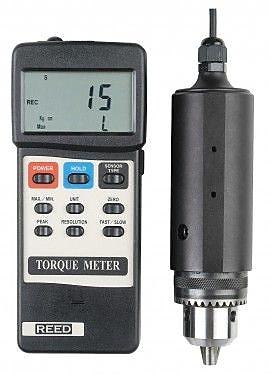 REED TQ-8800 Torque Meter, 0 to 15 lb-ft. (15 Kg-cm/147.1 N-cm)