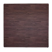 Tadpoles 4 Piece Wood Grain Playmat; Cherry