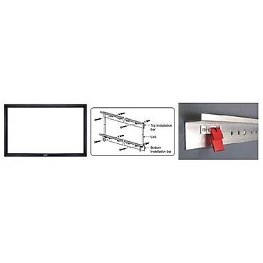 Grandview – Écran de projecteur à cadre fixe, acoustiquement transparent diagonale de 106 po (LF-PA106)
