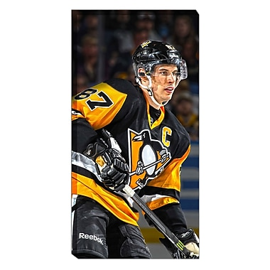 Frameworth Sidney Crosby NHL Canvas, Pittsburgh Penguins, 14