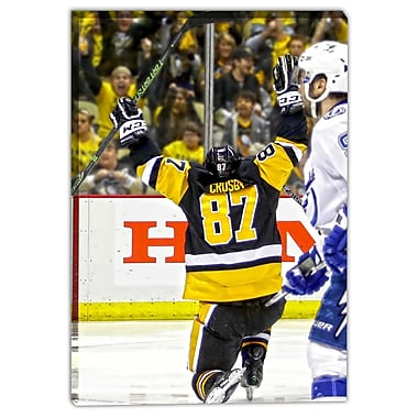 Frameworth Sidney Crosby NHL Canvas, Pittsburgh Penguins OT, 20