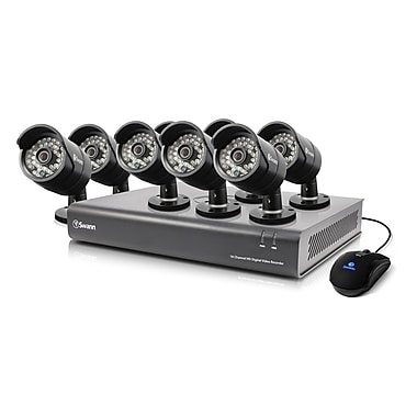 Swann SWDVK-1644008 16 Channel Analog 720p Digital Video Recorder & 8 x PRO-A850 Cameras