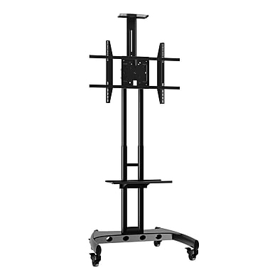 Rocelco Professional Flat Panel TV Cart, Up to 70