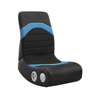 Level Up/Whalen Slim Back Rocker Gaming Chair, Blue, Mesh (SBGR-B)
