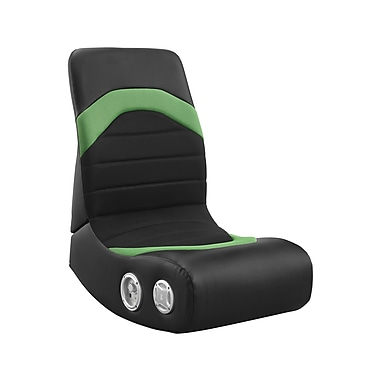 Level Up/Whalen Slim Back Rocker Gaming Chair, Green, Mesh (SBGR-G)