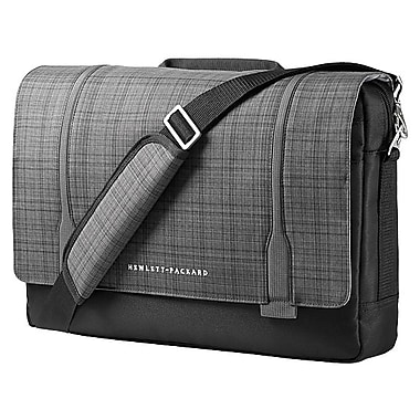 HP Slim Ultrabook Messenger, Twill, Black & Gray, (F3W14AA)