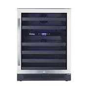 Vinotemp 46 Bottle Dual Zone Built-In Wine Refrigerator
