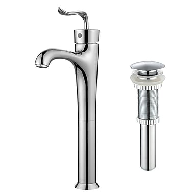 Kraus Coda Single Hole Single Handle Bathroom Faucet w/ Pop-Up Drain; Chrome