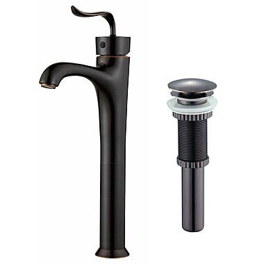 Kraus Coda Single Hole Single Handle Bathroom Faucet w/ Pop-Up Drain; Oil Rubbed Bronze