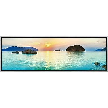 3 Panel Photo Islands in Thailand #2 Framed Photographic Print