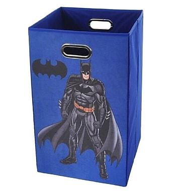 Modern Littles Batman Folding Laundry Hamper; Blue