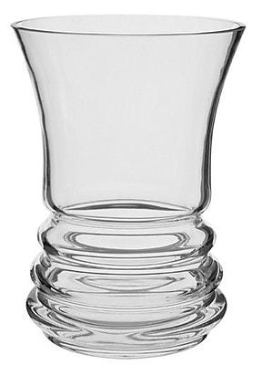 Dartington Wibble Wide Vase; Clear