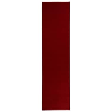 sweet home stores Clifton Red Area Rug; Runner 2'7'' x 10'
