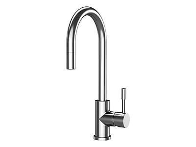 A&E Bath and Shower Amsterdam Pull Down Single Handle Kitchen Faucet