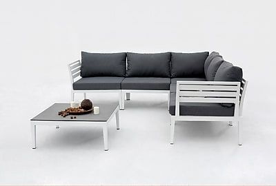 VIG Furniture Renava Anafi Outdoor Sectional Sofa Set
