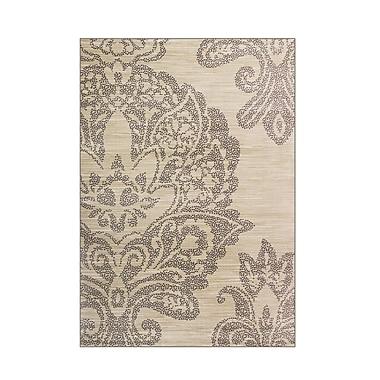 Art Carpet Bastille Beige Area Rug; Round 5'