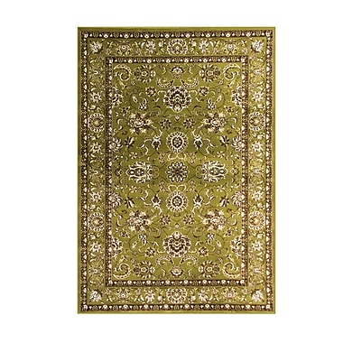 Art Carpet Arabella Green Area Rug; Round 5'