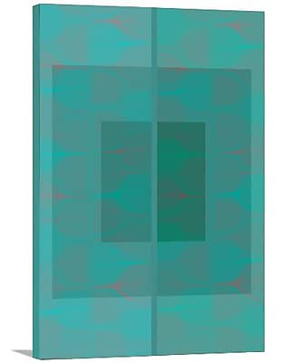Artzee Designs 'Modern Mosaic' Graphic Art on Wrapped Canvas; 24'' H x 12'' W x 0.75'' D