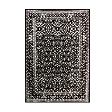 Art Carpet Kensington Black Area Rug; 3'11 x 5'11