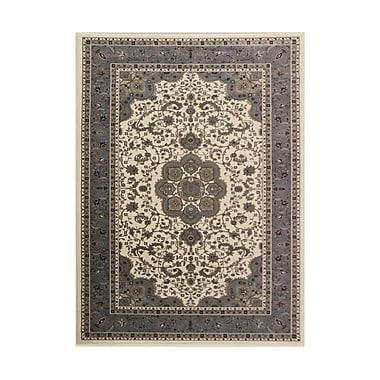 Art Carpet Kensington Aqua Area Rug; Round 5'