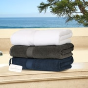Laguna Beach Towel Company Plush Bath Towel; White