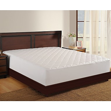 Haven Antimicrobial 400 Thread Count Mattress Pad; Twin