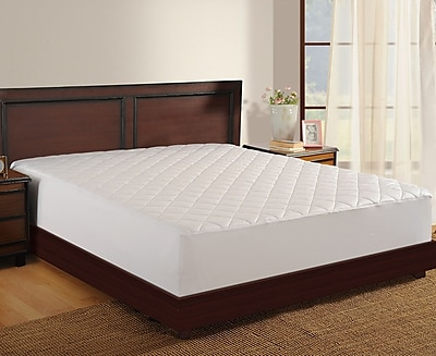 Haven Antimicrobial Mattress Pad; Twin