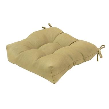 Greendale Home Fashions Outdoor Sunbrella Dining Chair Cushion; Spice