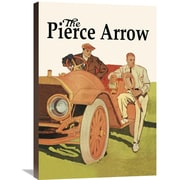 Global Gallery 'The Pierce-Arrow' Vintage Advertisement on Wrapped Canvas; 30'' H x 20'' W x 1.5'' D