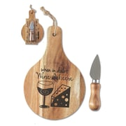 Jozie B Cheese Serving Board Set