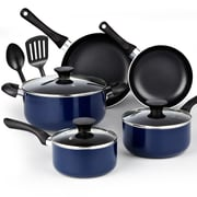 Cook N Home Soft Handle 10 Piece Non-Stick Cookware Set