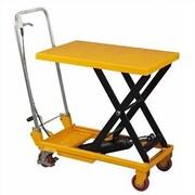 Wesco Industrial Light Duty Scissor Lift Table