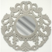 Fetco Home Decor Foley Medallion Mirror