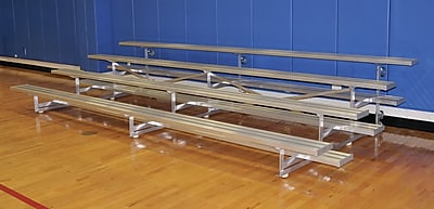 Jaypro Sports 4 Row 7.5' Tip and Roll Bleacher