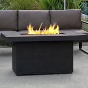 Real Flame Ventura Concrete Propane Fire Pit Table; Kodiak Brown