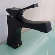 Nezza Talon Series Bathroom Faucet Single Handle; Black