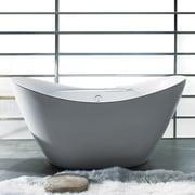 AKDY 67'' x 30'' Soaking Bathtub