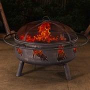 Sunjoy Winona Steel Fire Pit